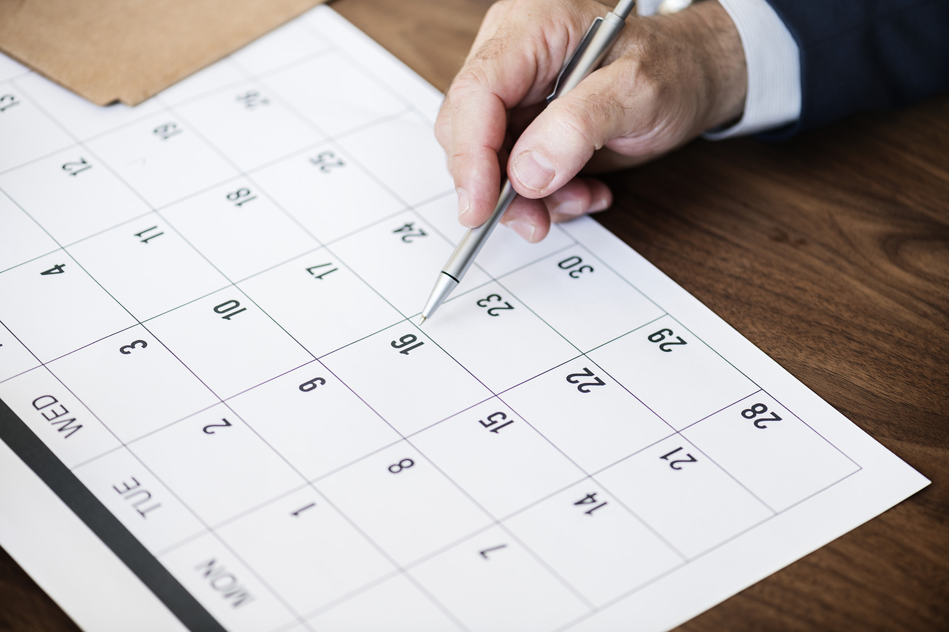 Календарь на PHP и Ajax
